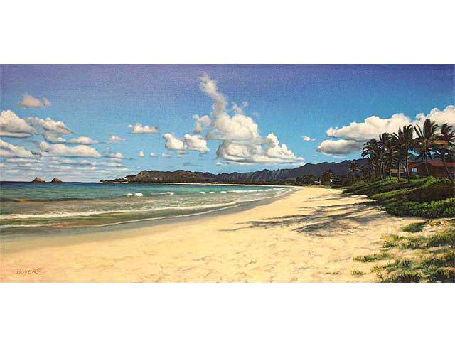 Kailua Beach Memories by Lynne Boyer