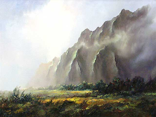 Sunrise On The Ko'olaus by Michael Powell