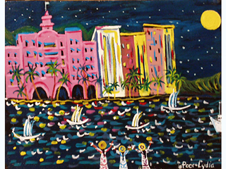 Night-Time by Artist Poor Lydia