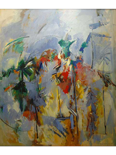 Palm Trees  by John Young (1909-1997)