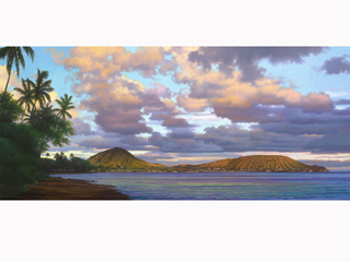 Koko Head by Gary Reed (1948-2015)