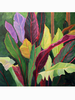 Leaves by Linda Hutchinson
