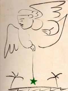 Christmas Card by Jean Charlot (1898-1979)