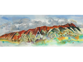 Diamond Head by Wendy Ladybird Hickey