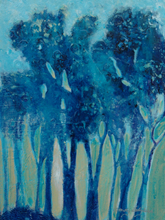 Blue Trees by Wendy Ladybird Hickey