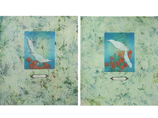Last Sighted  (Diptych) by Allyn Bromley