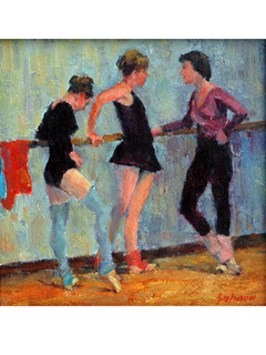 Ballerinas by Fred  Salmon