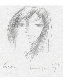 Untitled: Gwen by John Young (1909-1997)