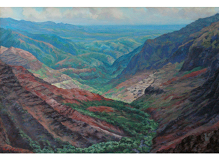 Waimea Canyon by Brady Churchill