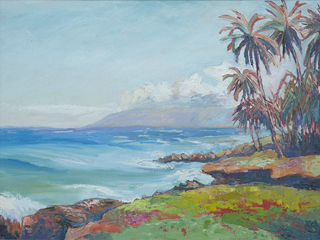 Maui Shores West by Warren Stenberg