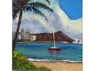 Waikiki by Lynne Boyer