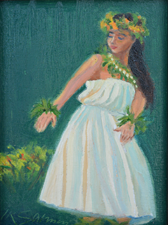 Hula Dancer by Ingrid Salmon