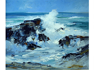 Untitled Seascape`````` by John` Young (1909-1997)