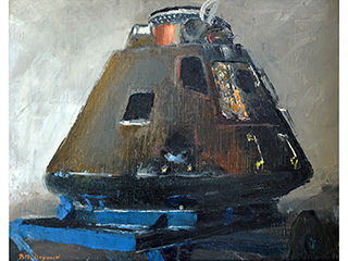 Apollo 8 Space Capsule (47) by Peter Hayward (1905-1993)