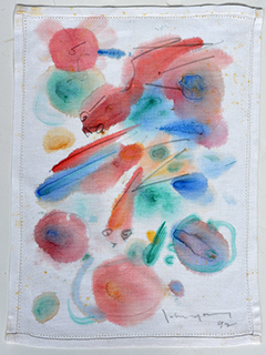 untitled abstract by John Young (1909-1997)