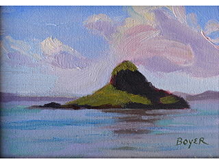 Chinaman's Hat Study by Lynne Boyer